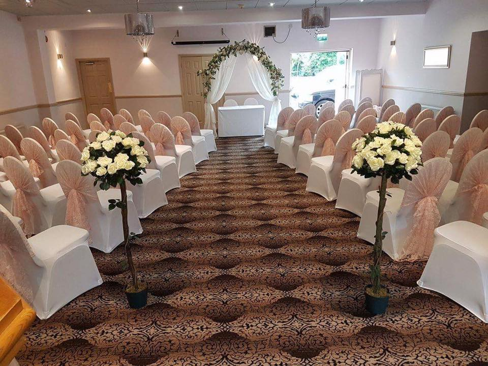 Arkwright Suite At The Lion Hotel Wedding Venues in Derbyshire