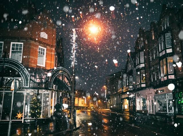 Belper Christmas Lights Switch On