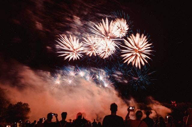Fireworks Display in Belper