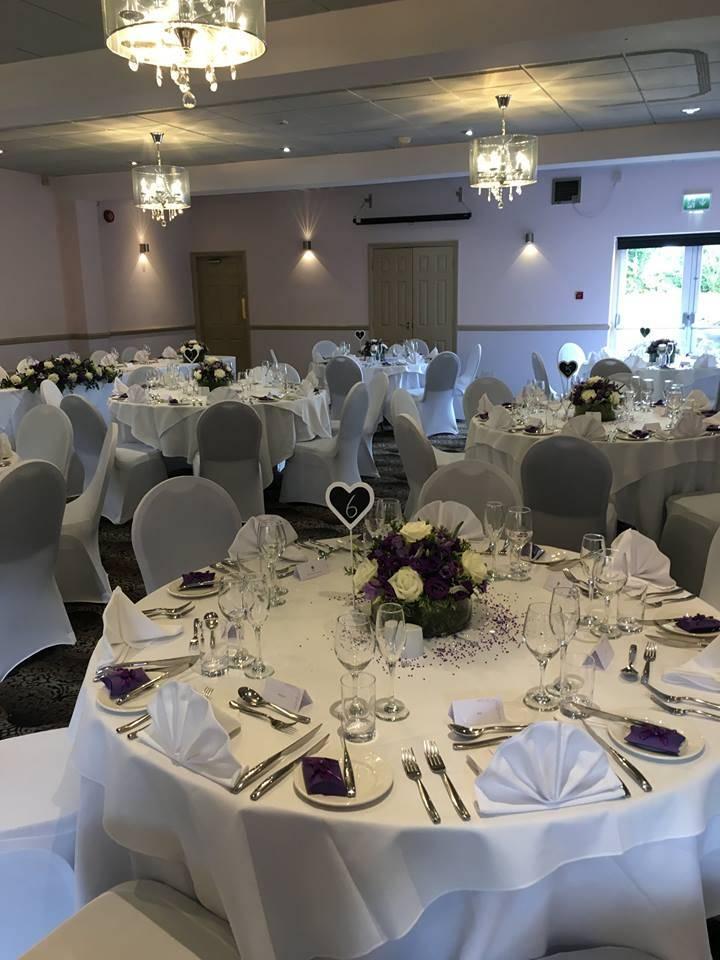 Wedding Breakfast - Lion Hotel Wedding Venues in Derbyshire